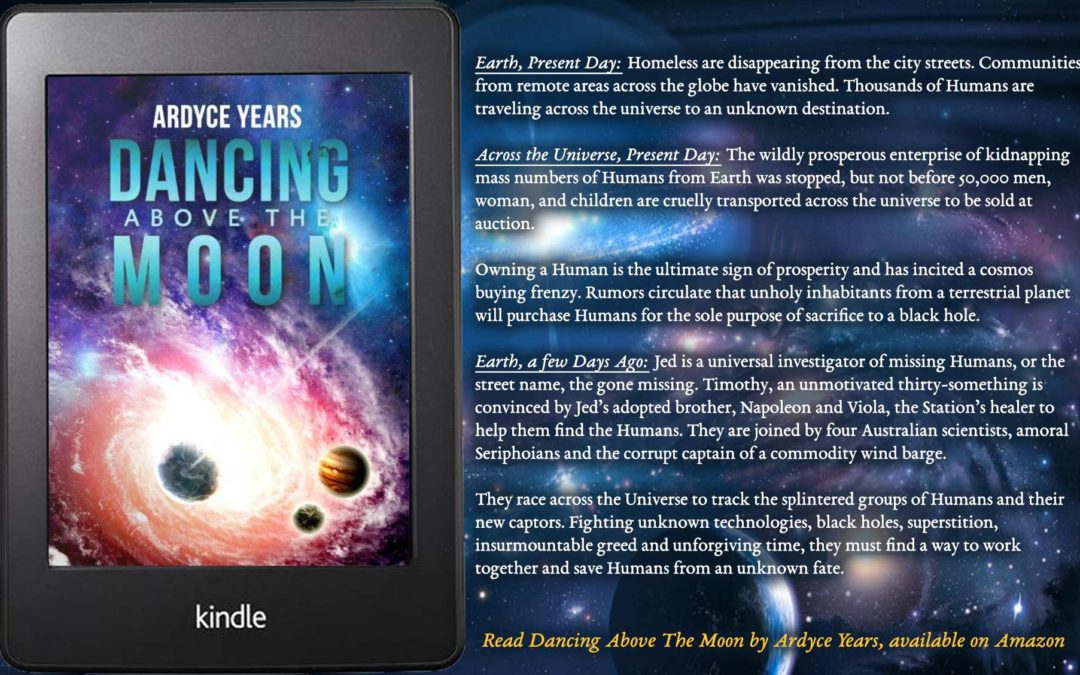 Dancing Above The Moon e-book available on Kindle