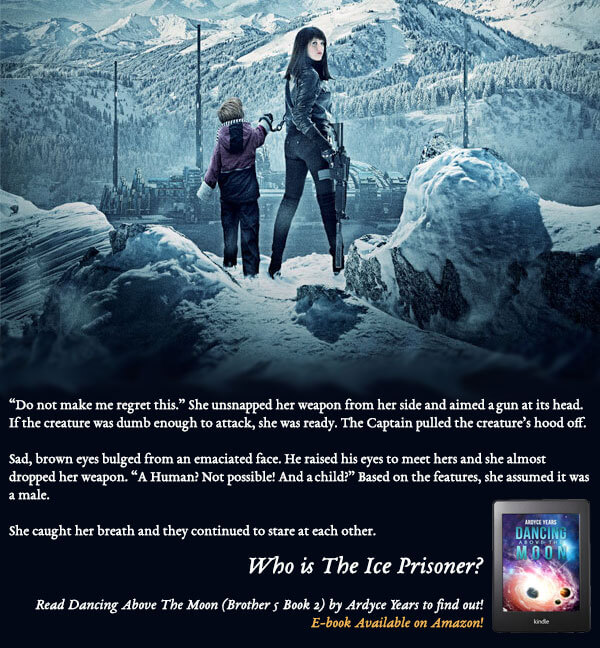 Who is the Ice Prisoner? - Read Dancing Above the Moon to find out
